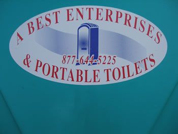 A-Best Enterprises Sign